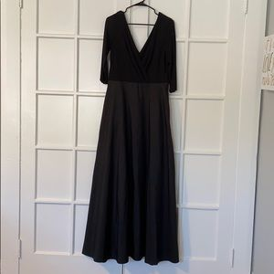 Alfred Sung Black Evening Gown